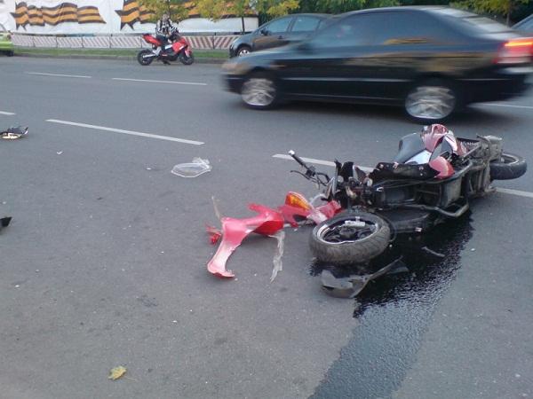 аварии скутеристов