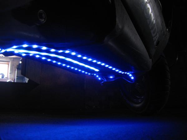 подсветка на скутер