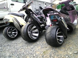 фото тюнинга скутера