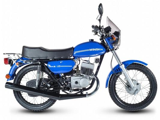 Характеристика мотоцикла Минск 125