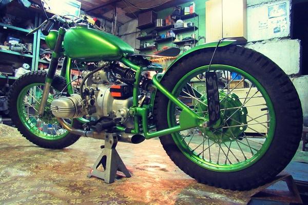 фото мотоцикл боббер