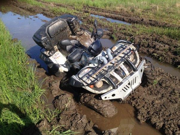тест Stels ATV 500