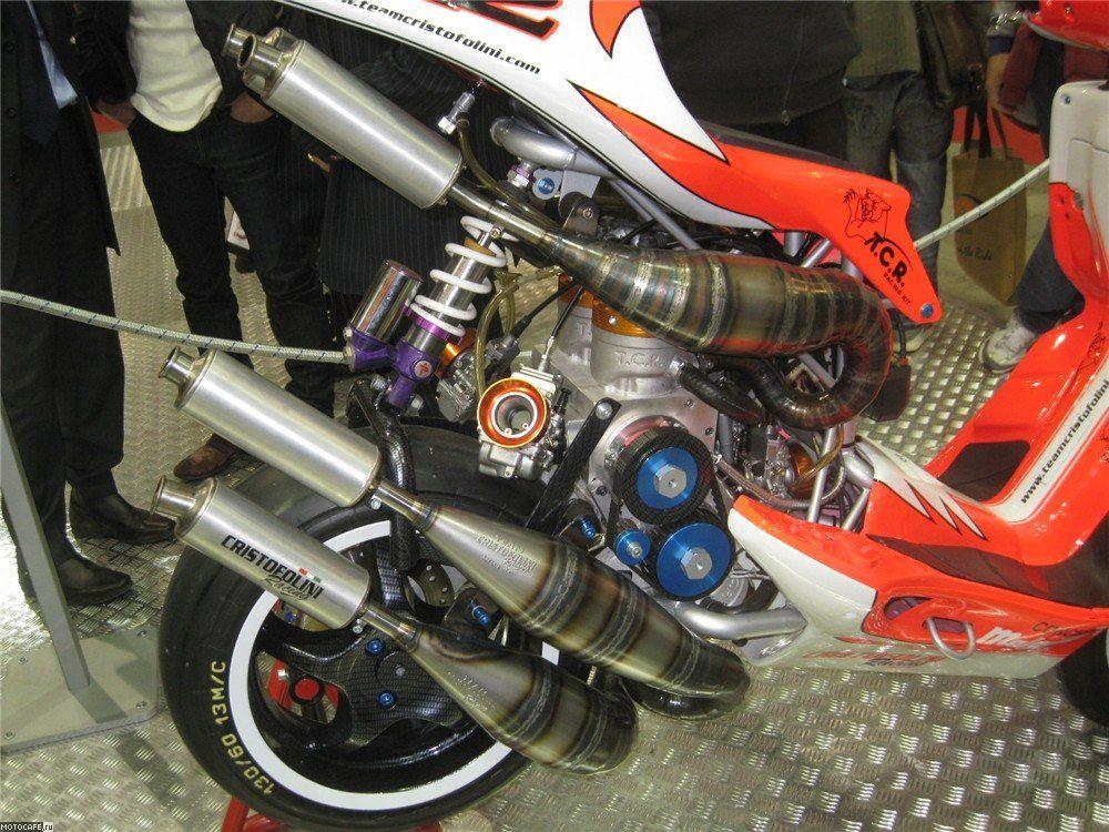 Как увеличить скорость скутера?