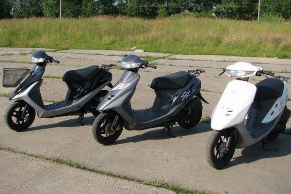 Лучшие японские скутеры