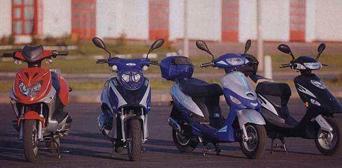 Лучшие китайские 50 кубовые скутеры