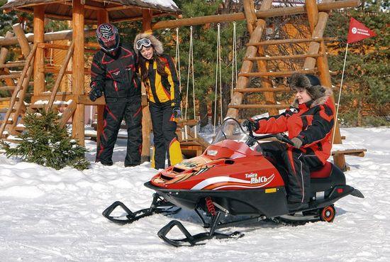 Детские снегоходы на бензине