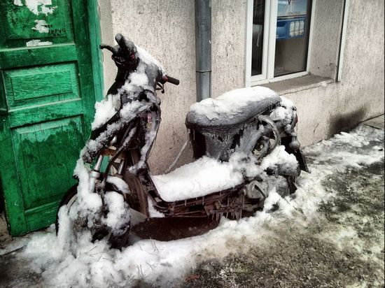Как завести мопед после зимы
