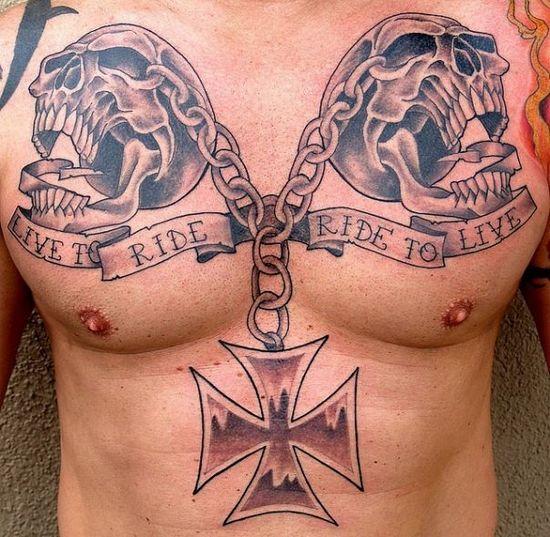 Байкерские татуировки