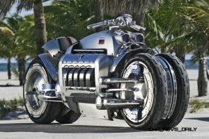Самые крутые мотоциклы - Dodge Tomahawk #2