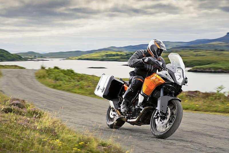 Мотоцикл для путешествий KTM Adventure 1190