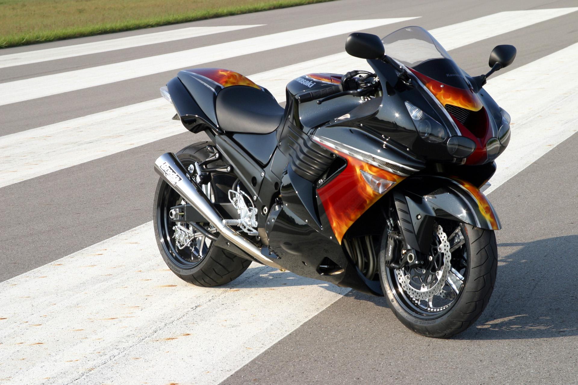 Самые крутые мотоциклы - Kawasaki Ninja ZX-14