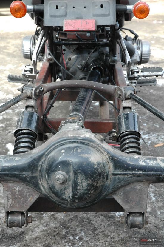 Квадроцикл из урала своими руками