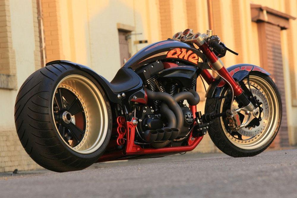 Кастом мотоцикл The ONE