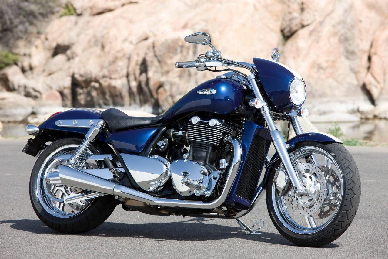 Обои Thunderbird, Triumph, bike. Мотоциклы foto 14