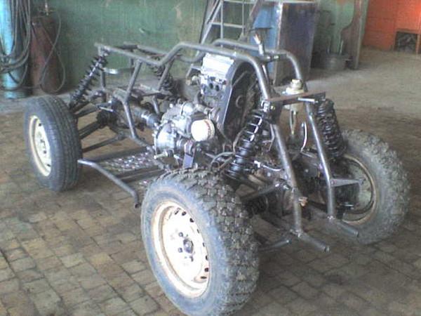 Квадроцикл 4х4 на базе ОКИ 44
