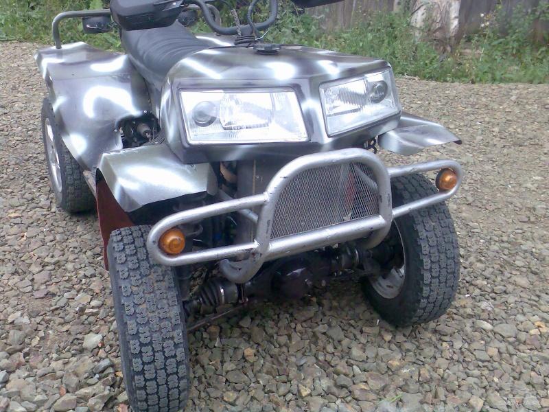 Квадроцикл 4х4 на базе ОКИ 1