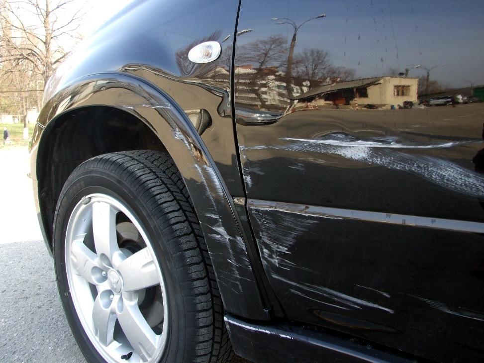 удаление царапин на кузове автомобиля виды царапин