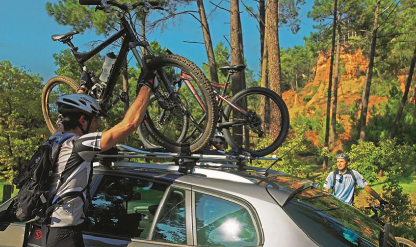 крепление для велосипеда на машину фото