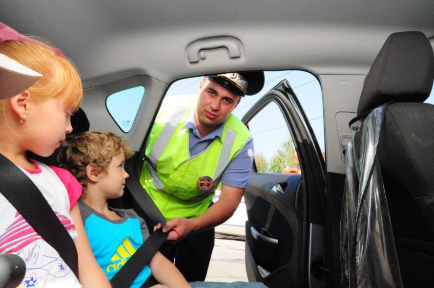 правила перевозки детей в машине и штрафы