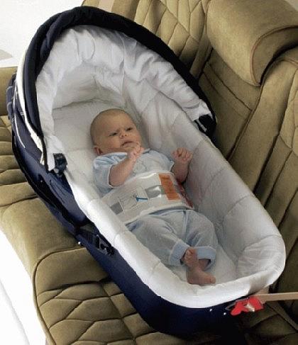 правила перевозки детей в машине автолюлька