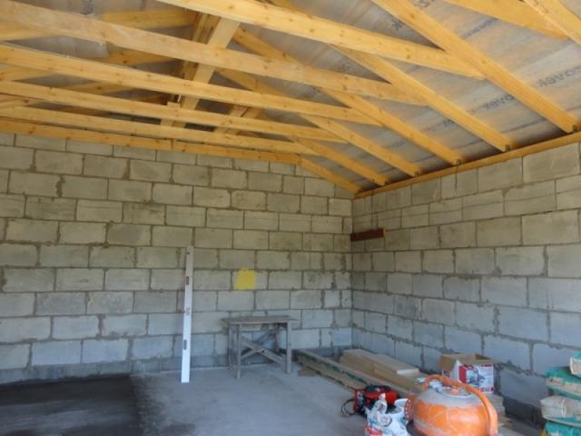 строим гараж своими руками крыша