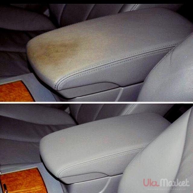 восстановление пластика салона автомобиля перетяжка кожей
